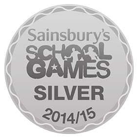 Sainsbury's School Games Silver 2014 2015